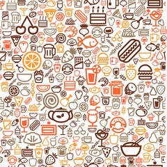 seamless food background