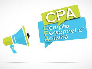 mégaphone : CPA