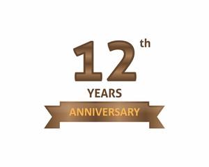 12 Years Anniversary Logo