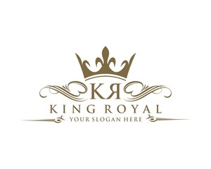King Royal - Letter K L Logo