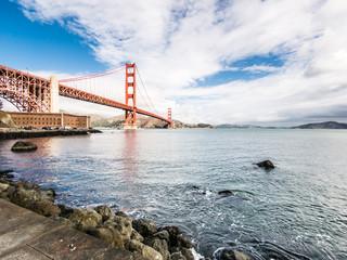 Golden Gate in San Francisco, USA