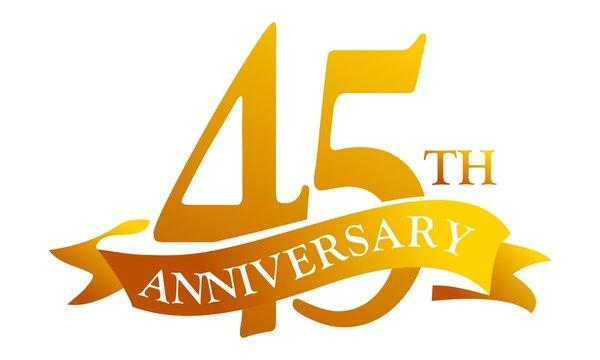 45 Ribbon Anniversary