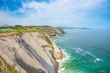 Corniche d'Urrugne, Basque Country, Pays Basque, France