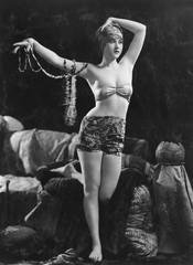 Portrait of exotic sensual woman