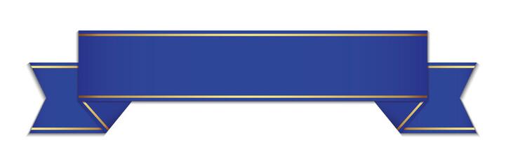 blue ribbon - vector design element