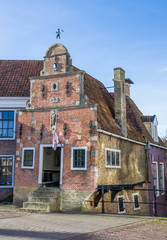 Fotomurales - Smallest house of historic city Franeker