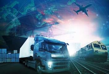 world trading with industries truck,trains,ship and air cargo fr
