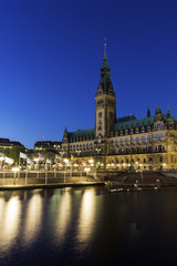 Hamburg City Hall in Germany