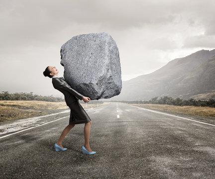 Under pressure of difficulties