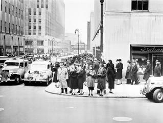 Fifth Avenue and 50th Street , New York, NY, circa 1938