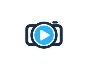 Camera Video Photography Logo Design Template