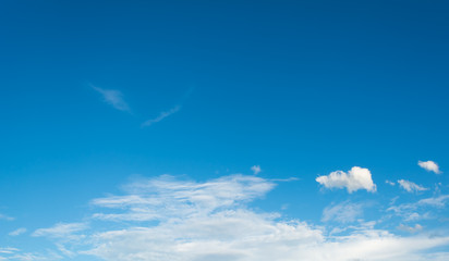 image of blue sky on day time for background usage.