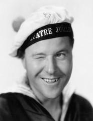 Portrait of winking sailor