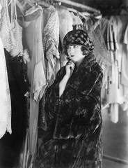 Foto op Aluminium Imagination Woman deciding what to wear