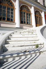 Лестница в усадьбу Дубровицы