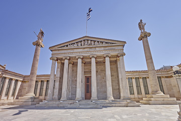 Printed kitchen splashbacks Athens Greece, the national academy neoclassical facade