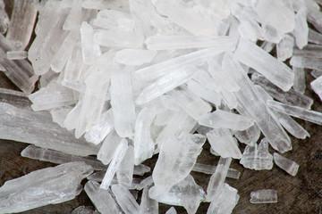 Methamphetamin auch bekannt als crystal meth