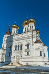 Church of Alexander Nevsky at Railway Square in Tver, Russia