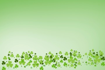 Picture of green shamrock