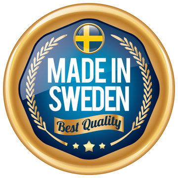 made in sweden icon
