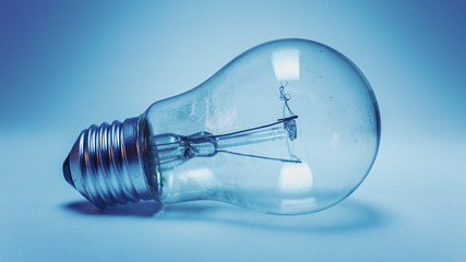 Electric Bulb in Blue