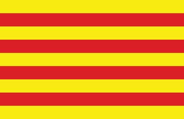 Catalonian flag.