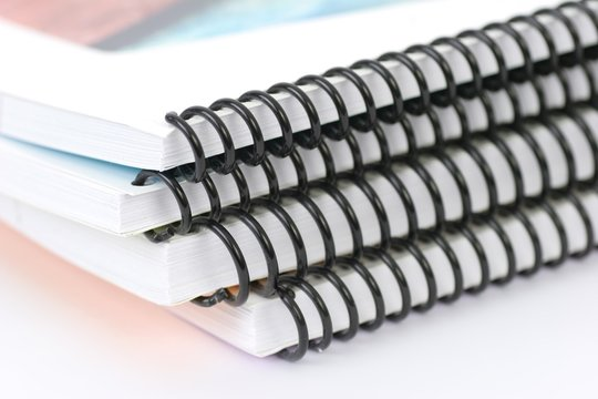 Spiral bound books