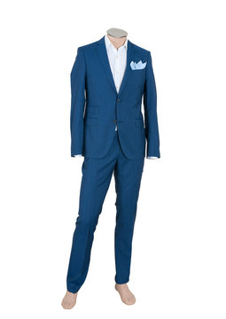 Beautiful suit on a man doll