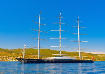 in Spetses island in Greece