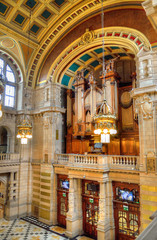 The Kelvingrove art gallery and museum, Glasgow, Scotland..