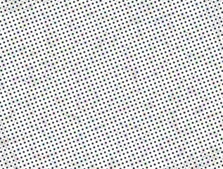 Seamless Polka dot background. Squared dots on white background for graphic design background texture pattern.