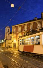 Remodelado tram in Lisbon in Portugal