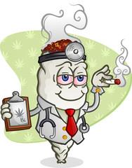 Medical Marijuana Doctor Cartoon