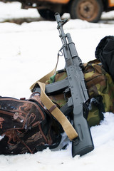 Kalashnikov assault rifle AK-74