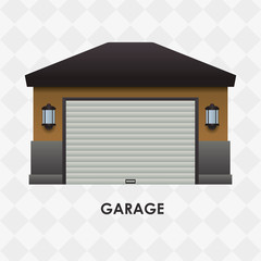 Garage icon design