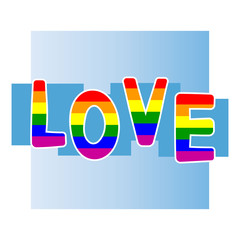 Stock vector background with  gay pride design elements for your design