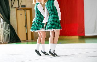 Irish dancing legs