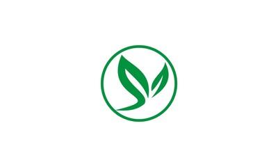 green leaf oragnic logo