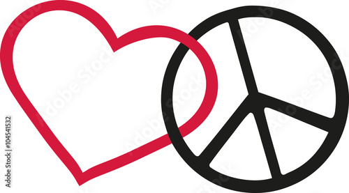 Love And Peace Icons Stock Image And Royalty Free Vector Files On