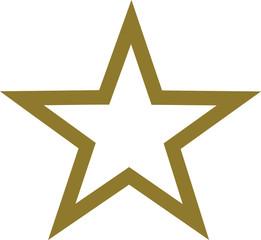 Star golden border