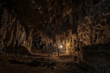 "Thailand amazing and unseen cave ""Tham Lod"" at MaeHongSon province"