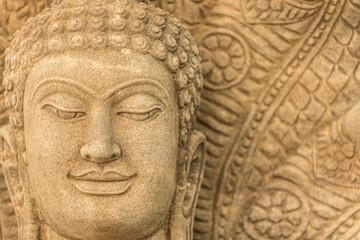beautiful buddha in thailand.