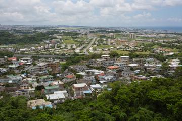 沖縄県中部の集落