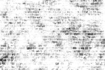 In de dag Graffiti Black and white wall painting art, inspirational background image.