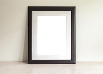 Rectangular frame mockup