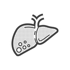 liver cancer icon