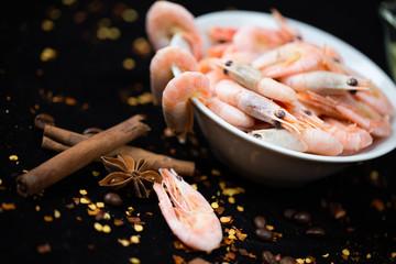 seafood, shrimp