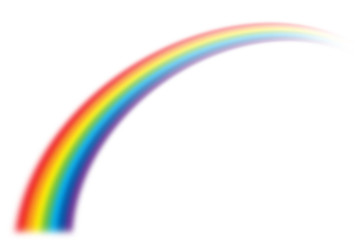 illustration of rainbow