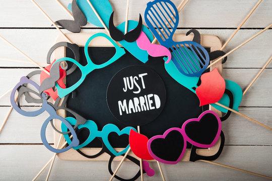 Wedding accessories set