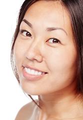 Asian beauty closeup